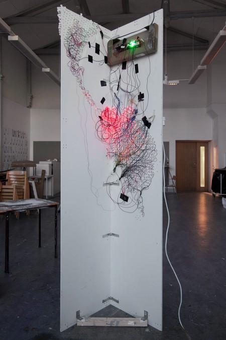 Innenseite der Installation