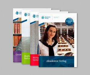 Oldenbourg & Akademie Verlagsvorschau
